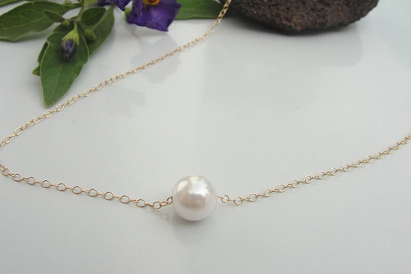 Hot Fashion Women/'s Pearl Necklace Jewelry Pendant Statement Pearl Bib