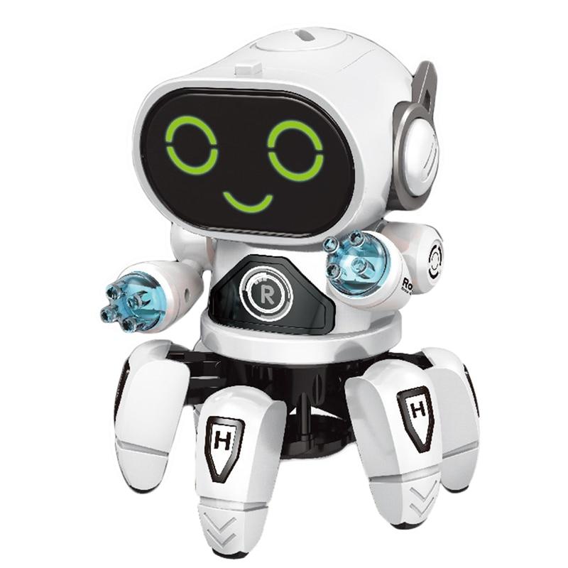 Robot à Induction Intelligent bricolage assemblé Robot électrique enfants jouets éducatifs