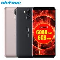 Original Ulefone Power 3 Mobile Phones 6 0 Inch 64GB ROM 6GB RAM Octa Core MTK6763