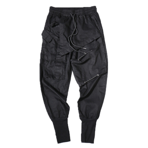 Image 5 - Streetwear Spring Harem Pants Men Hip Hop Black Casual Mens Joggers Pants 2020 New Sweatpants Cargo Trousers Men