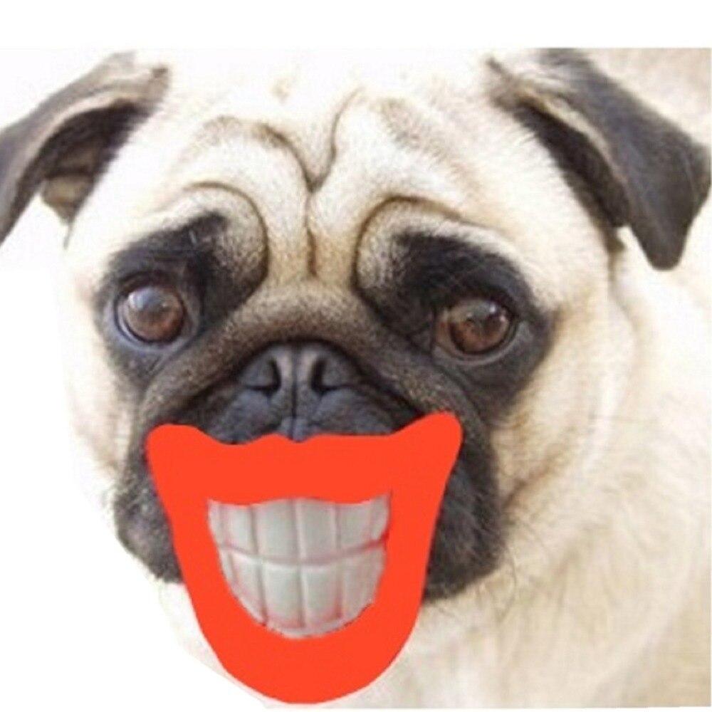 Plush Smile Dog Toy