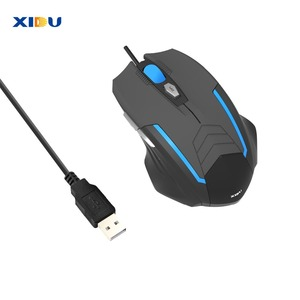 Image 5 - Xidu マウス usb 3.0 有線ゲームマウス調整可能な光学コンピュータマウスとノート pc 用 led ライト