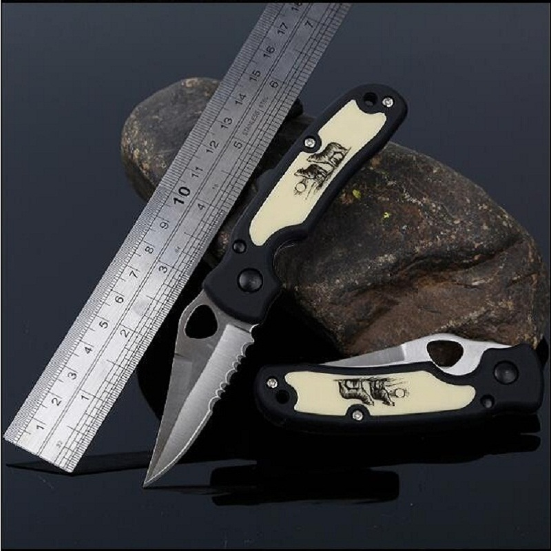Mini Outdoor Portable  Knife Fruit Knife Creative Outdoor Multi-function Folding Knife Pocket  Small Tool