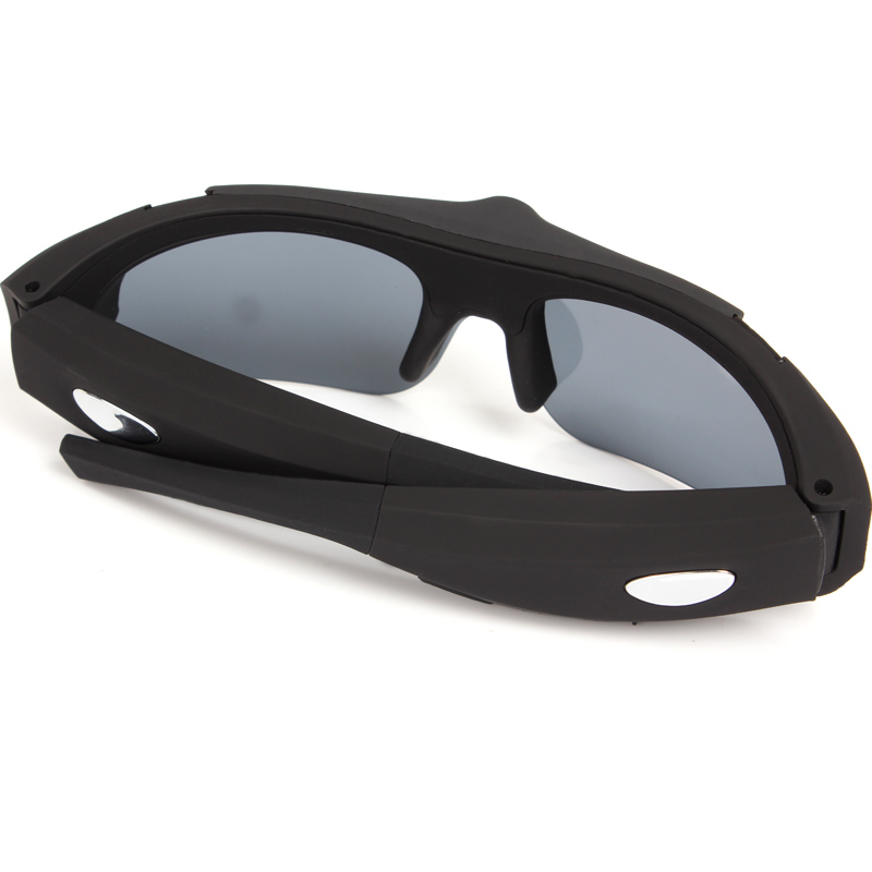 d7a56aaf9 1080 P HD óculos de Sol Câmera com lente Grande Angular Câmera óculos  Esporte UV400 Proteção