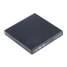 NI5L Portable External Slim USB 2.0 DVD-RW/CD-RW Burner Recorder Optical Drive CD DVD ROM Combo Writer For Tablets PC