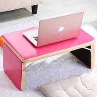Computer Desks Office Home Bed Furniture PU Panel Laptop Desk Whole Sale Good Price Functional Portable