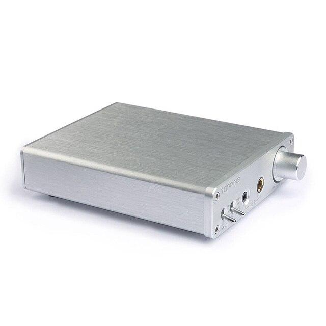 Topping A30 TPA6120 3.5mm/6.35mm Headphone output Hifi Desktop Headphone Amplifier 3
