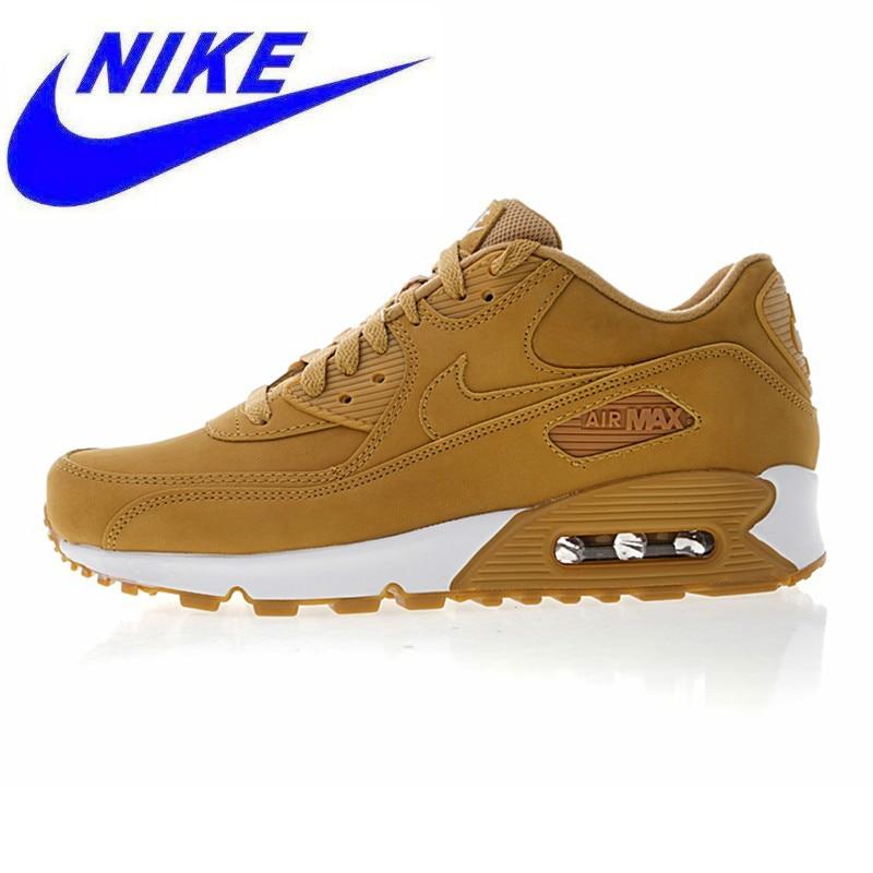 watch 470a9 d5201 Original Nike Air Max90 Essential Men s Running Shoes, Dark Yellow, Shock  Absorption Breathable Non-slip Lightweight 881105 200