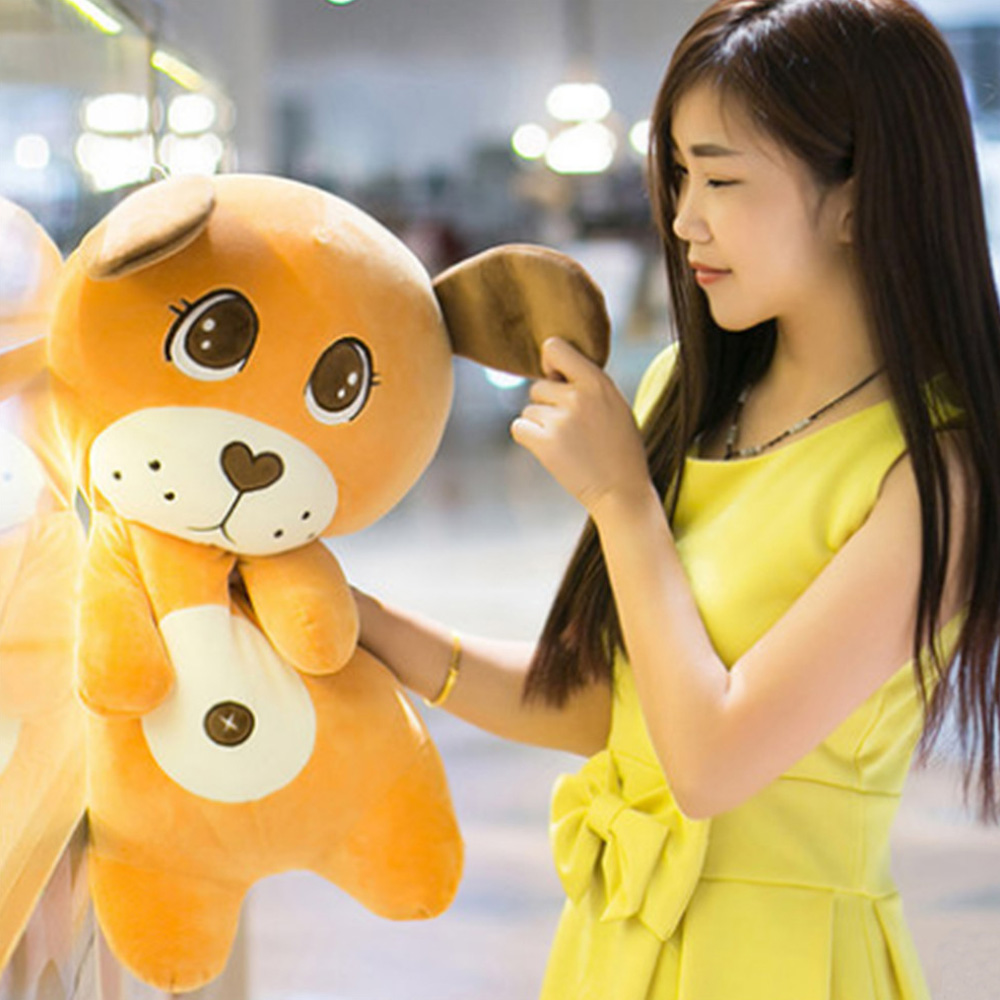 Fancytrader One Piece Anime Cartoon Dogs Toy 90cm Giant Stuffed Soft Animals Dog Pillow Doll 35''for Children Gifts fancytrader anime kawaii cat plush toy big giant stuffed animals cats doll pillow gifts for children 80cm