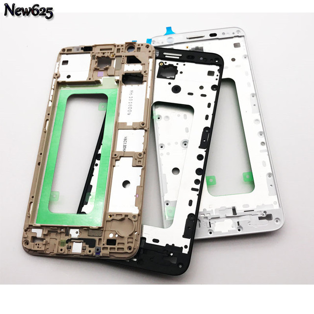 huge discount dd6bd f14f7 Aliexpress.com : Buy New For Samsung Galaxy J7 Prime / On7 (2016) G610  Front Housing Frame LCD Panel Cover Replacement Part from Reliable housing  ...