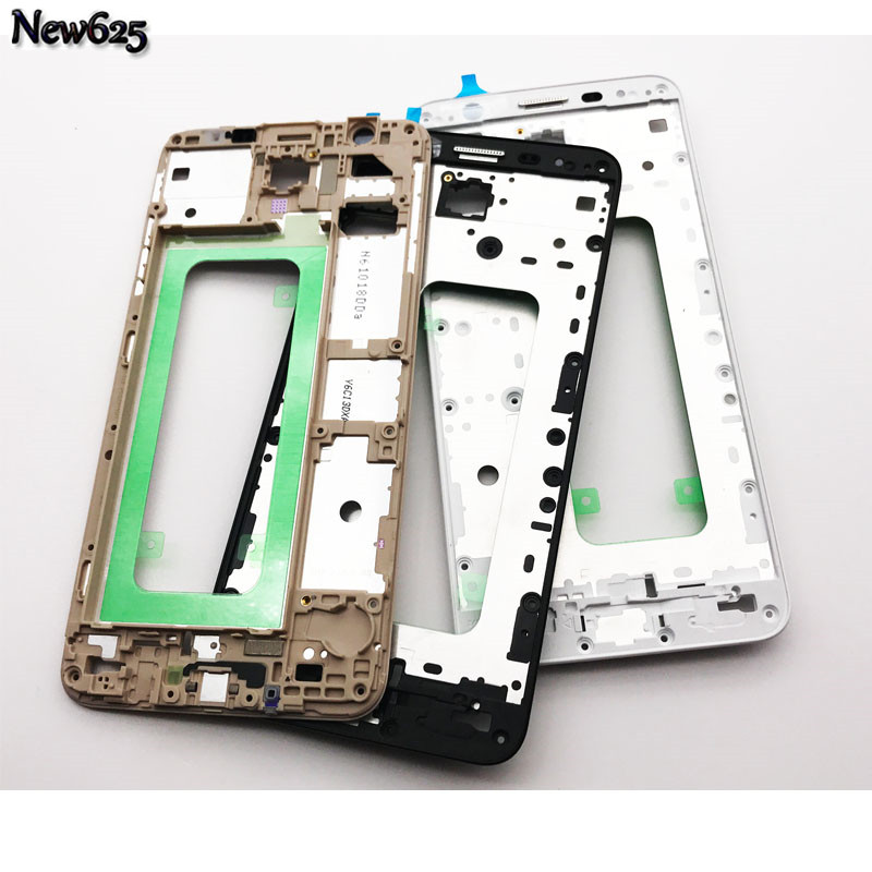 New For Samsung Galaxy J7 Prime / On7 (2016) G610 Front Housing Frame LCD Panel Cover Replacement Part