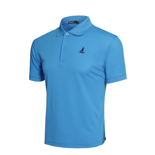 New 2018 Running Mens brand Clothing Embroidery T-Shirts Men golf dress T shirt Cotton Turn-down Collar Top Tees