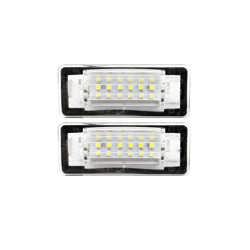 2PCS 18SMD LED FOR AUDI TT 8N  CANBUS LED License plate light   auto accessories  auto led license plate lamp Car-styling motorcycle tail tidy fender eliminator registration license plate holder bracket led light for ducati panigale 899 free shipping