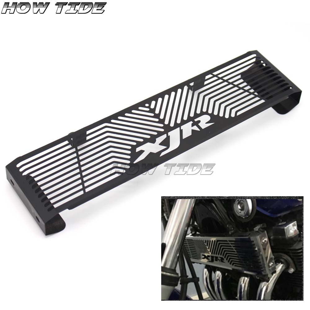 Motorcycle High Quality Oil Cooler Protector Grille Guard CoverFor <font><b>YAMAHA</b></font> <font><b>XJR</b></font> <font><b>1300</b></font> XJR1300 1998-2008 image