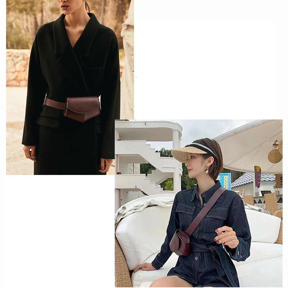Leather Bum Pouch Fanny Pack - Beyond Baby Talk