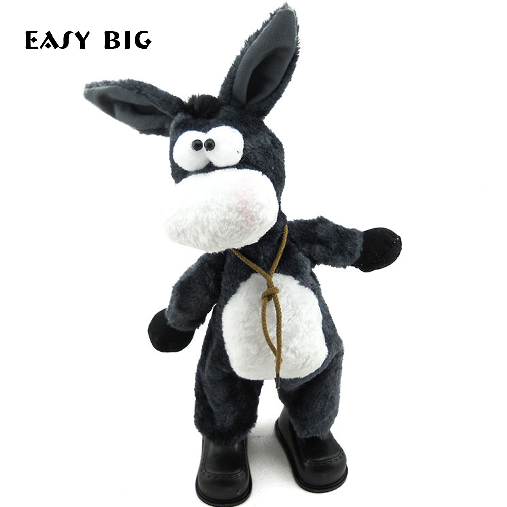 EASY BIG Funny Dancing Sounding Unisex Children Electronic Pets Cute Soft Plush Kids font b Toy