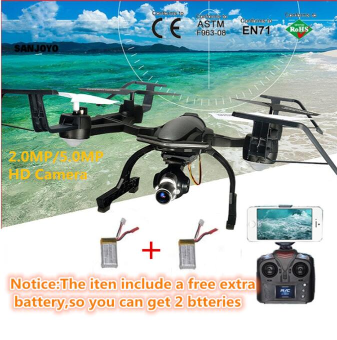 Free extra battery hot RC Drone 668-R8W 4G 4CH 3D Roll one key return 720P/1080P camera WIFI FPV RC Quadcopter drone vs X5SW X8