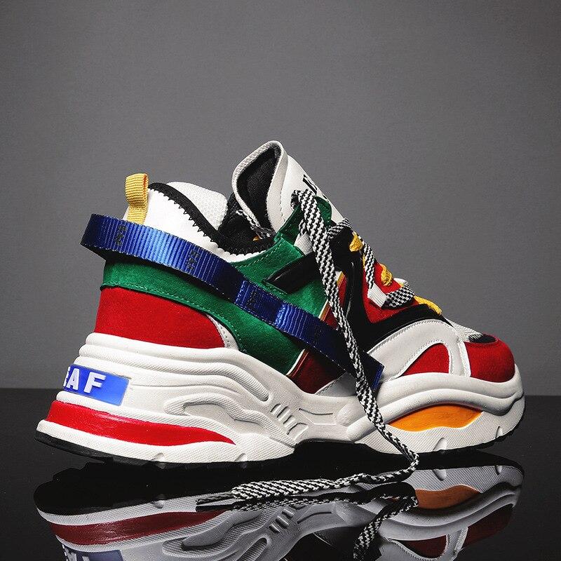 Respirant Zapatillas Noir Tenis Hommes Sneakers Chaussures Sport 700 Lumière De Vintage Papa Hombre 2018 West blanc color Ins Masculino Kanye Casual qaO8UwnB