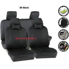 Uniwersalne pokrowce na siedzenia samochodowe Dla TOYOTA Corolla Camry Rav4 Yaris Vitz Prius Auris car-pokrowce akcesoria stylizacja czarny/szary/czerwony