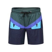 Patchwork Swimwear Beach Surf Board Shorts Mens Quick Drying Summer Water Sport