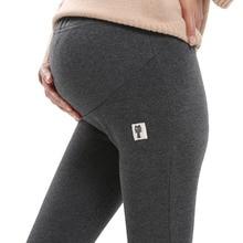 4XL зимние Бархатные брюки для беременных женщин для беременных леггинсы теплая одежда утолщение брюки для беременных Материнство Одежда