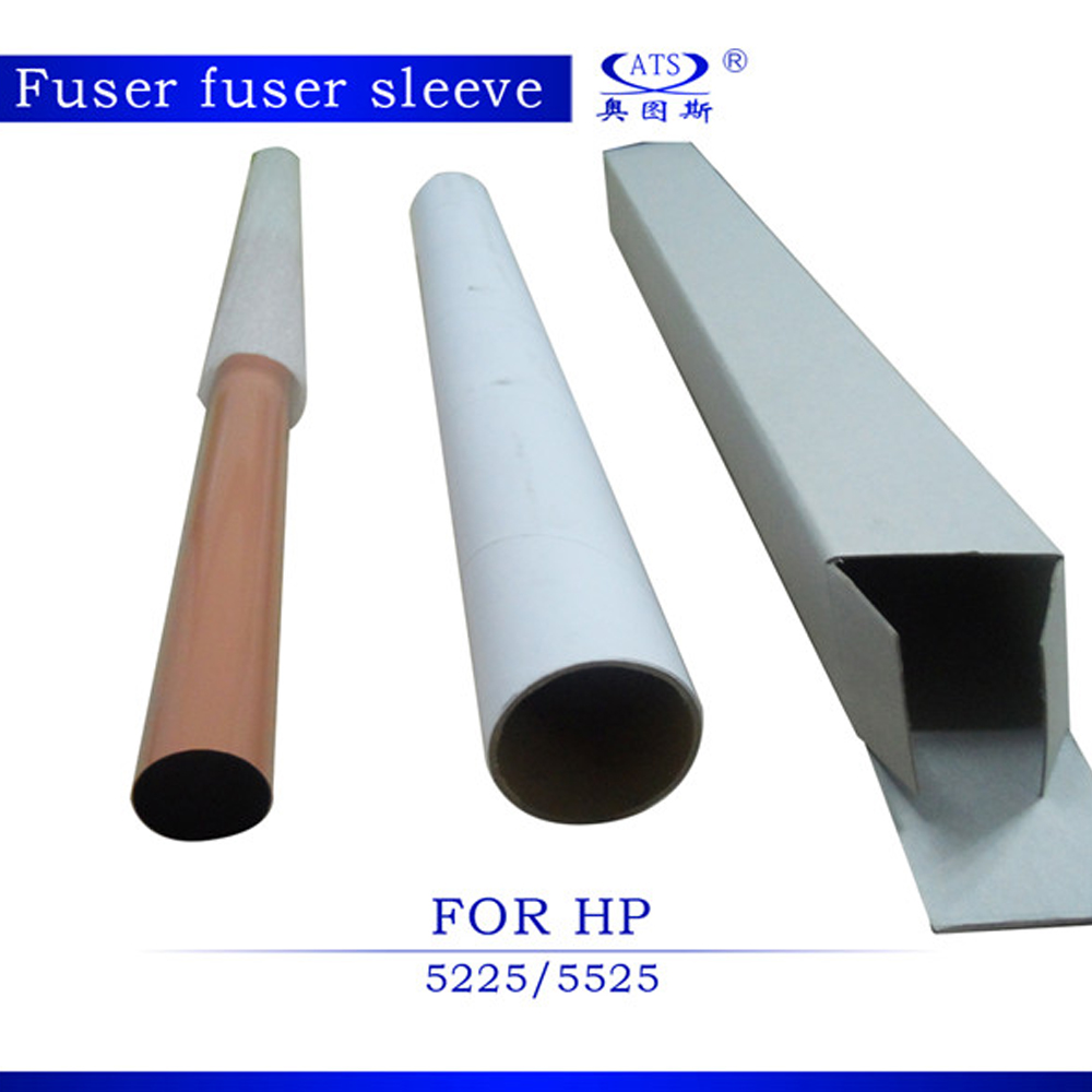 1PCS Photocopy Machine fuser film compatible for HP5225 HP5525 5225 5525 Fuser film sleeves copier machine 1pcs compatible developer for minolta 7020 7022 7030 7130 7025 copier parts