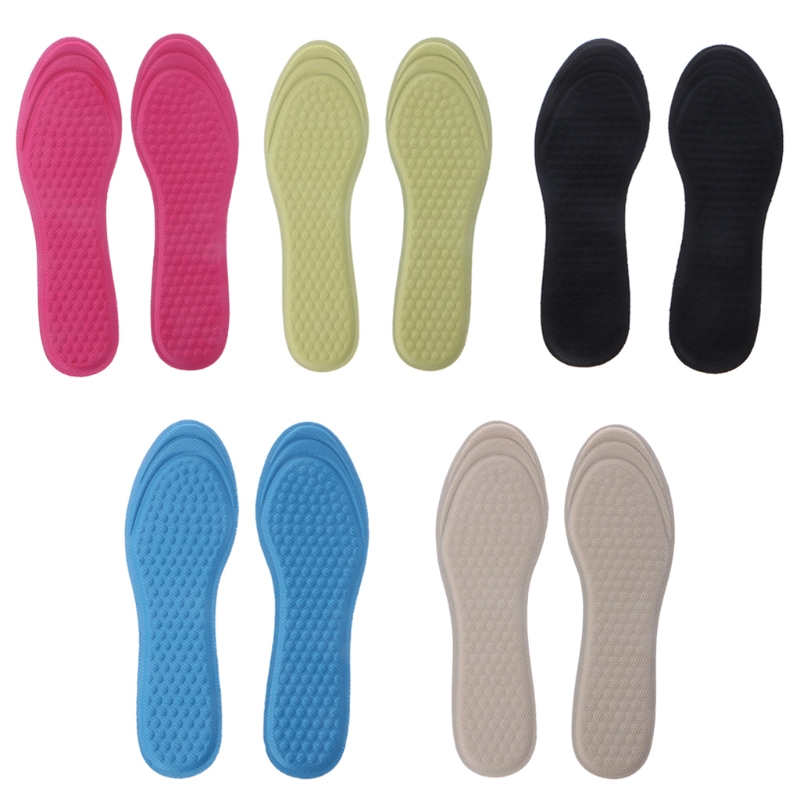 New Women Breathable Elastic Pad Adjustable Size Massage Insole With Soft Non Woven