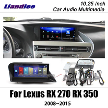 Liandlee 10.25 Android For Lexus RX 270 350 AL10 2008~2015 Stereo Screen Mouse BT Carplay Map GPS Navi Navigation Multimedia