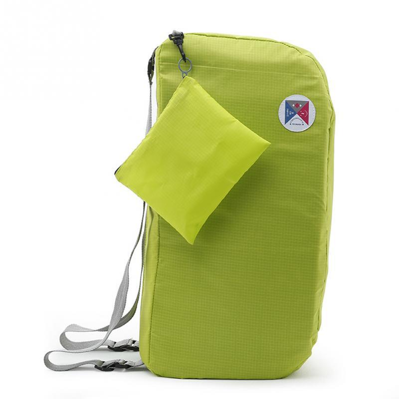 Men Women Multi-Function Oxford Cloth Knapsack Lightweight Backpack Travel Bags Mountain Climbing Outdoor Supplies