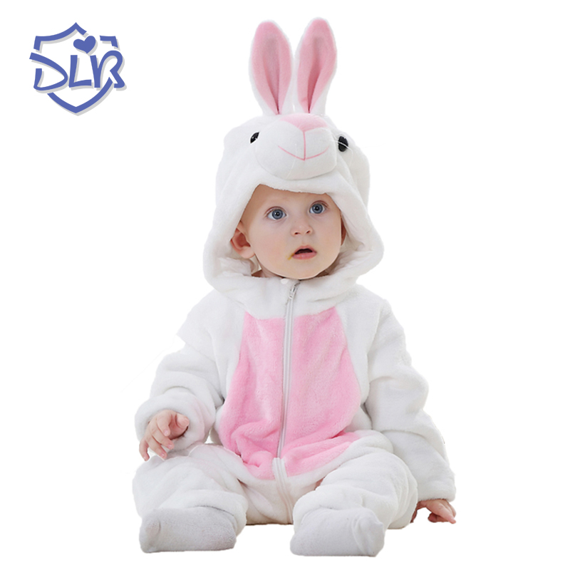 Super Soft Cute Baby Rompers Spring Autumn Flannel Baby Clothes Cartoon Animal Jumpsuit Baby Rompers Baby Boy & Girl Romers