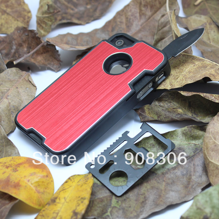 custodia iphone con coltello
