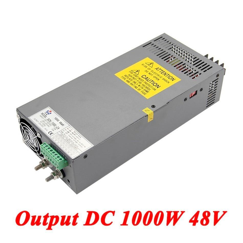 Scn 1000 48 Switching Power Supply 1000W 48v 20A,Single Output Industrial grade Power Supply,AC110V/220V Transformer To DC 48 V