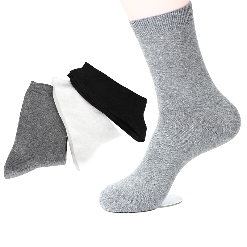 AILNT Kids Boy Girl Cotton Comfort Crew Sock, Different Color Chioce 5 Packs