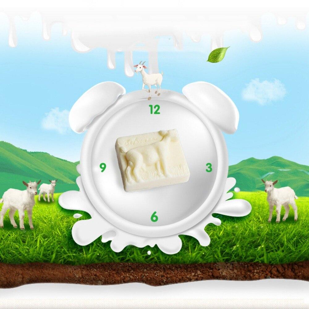 Goat Milk Soap Anti-Mite Anti-Acne Oil-Control Handmade Soap Nourishing Moisturizing Face Bath Mild Skin Care