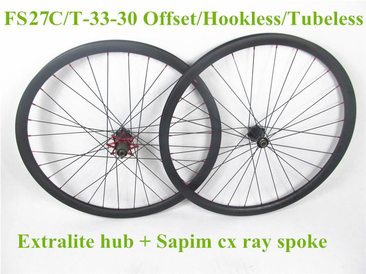 27.5er carbon mtb wheels