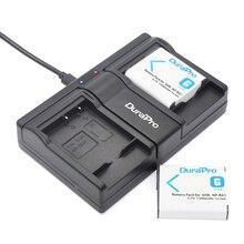 DuraPro 2Pcs NP-BG1 NP-FG1 Battery + USB Twin Channel Charger for SONY Cyber-shot DSC-H3 DSC-H7 DSC-H9 DSC-H20 DSC-H50 DSC-H70