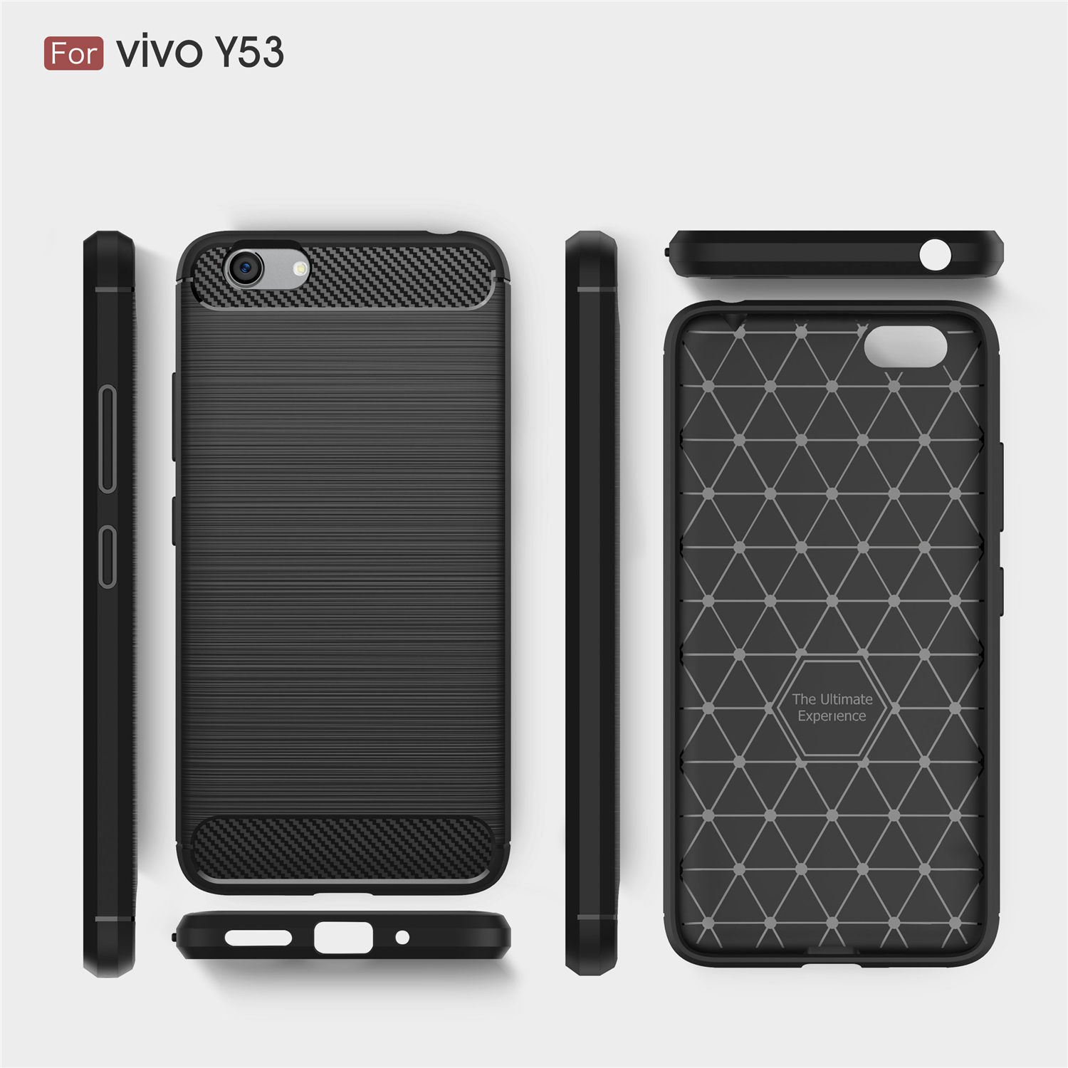 official photos 6d147 36e99 US $5.98 |Carbon Fiber Soft TPU Drawing Case For vivo Y53 Phone Cases  Gravity Falls Shock Protection Back Cover Bq-in Half-wrapped Case from ...