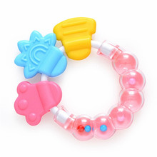 Infant Toy 1 PC Cartoon Baby Rattle Teether Toys For Baby 0-12 Month Newborn development  Educational Toys