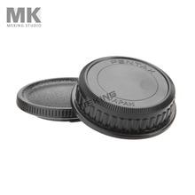 Meking Lens Entrance & rear cap digicam boby caps for Pentax Canon Nikon Defending