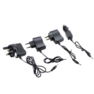 Image 3 - Zasilanie prądem zmiennym przejściówka do ładowarki Port do 18650 latarka na baterie reflektor zasilanie konwertery drut ue US UK wtyczka samochodowa darmowa wysyłka