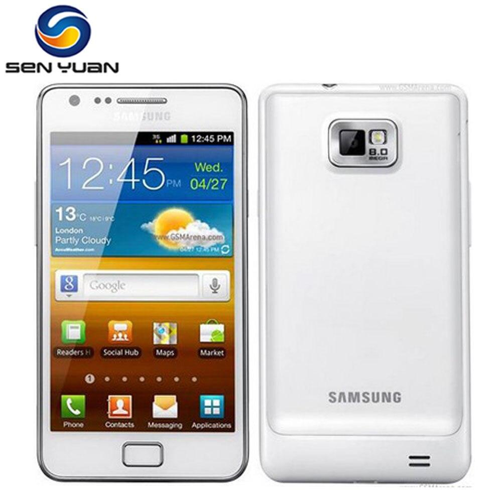 """bilder für I9100 original samsung galaxy s2 i9100 gps 16 gb rom 8mp 4,3 """"touchscreen smartphone kostenloser versand"""