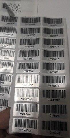 x 15mm selo da seguranca anti adulteracao