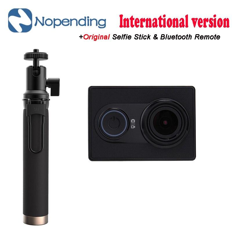 NEW Original Xiaoyi yi Xiaoyi WiFi Esporte Câmera Esportes de Ação Da Câmera 16MP 60FPS WI-FI Ambarella Bluetooth Versão Internacional