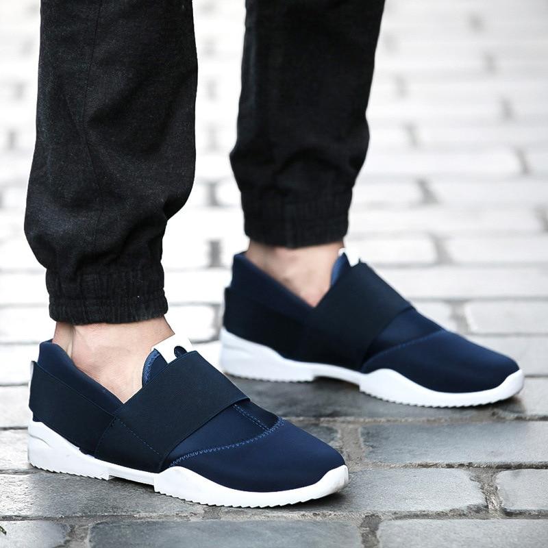Hommes orange Blue black Tendance Coréenne 2018 Chaussures Automne Ipccm Et Nouvelle Printemps Toile Angleterre Respirant De ZqOPc8PS6