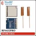 2 unids/lote RF4432PRO Front-End RF Módulo Si4432 Chip de RF 868 MHz Módulo Transceptor Inalámbrico