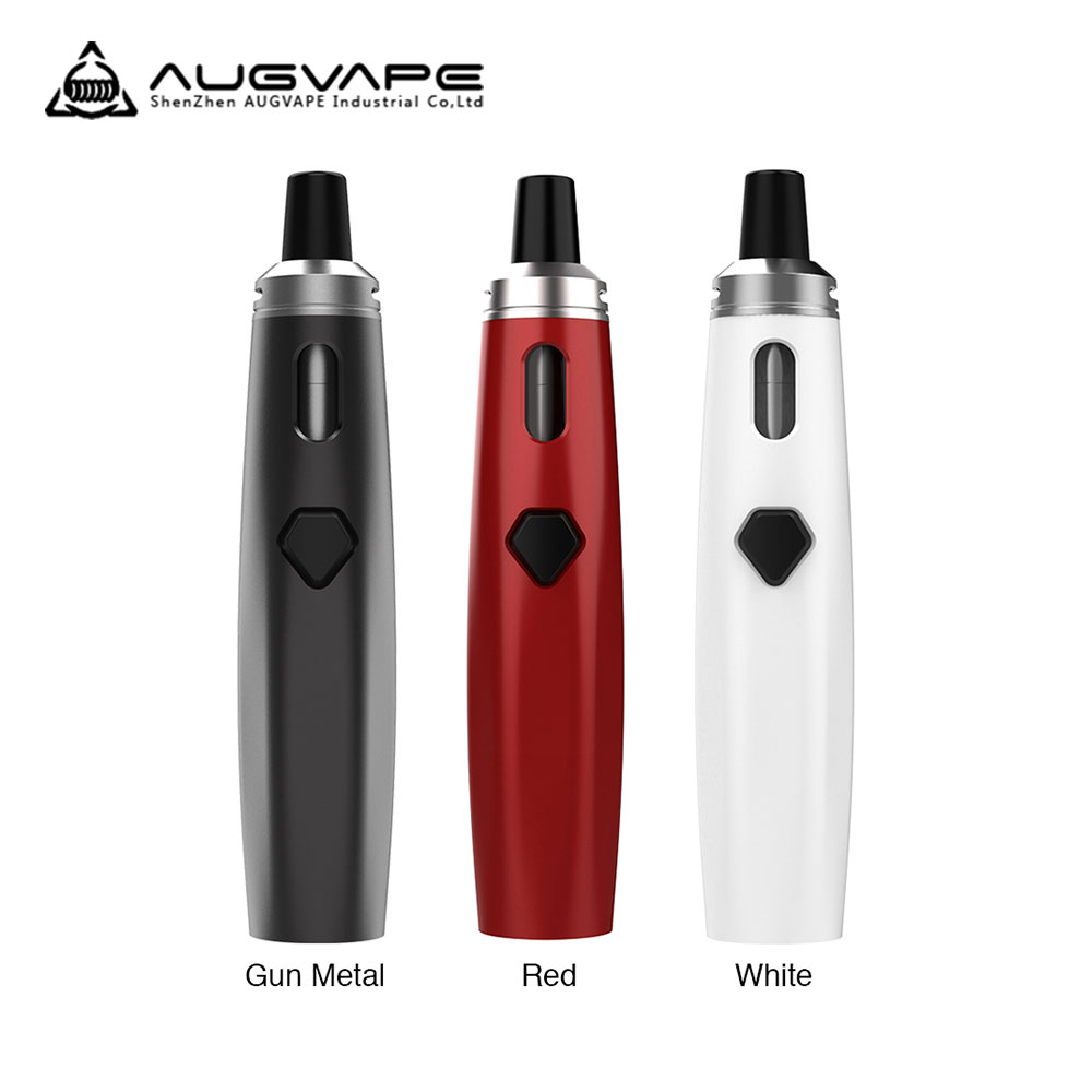 New Original AUGVAPE AIO Starter Kit with 1500mAh built-in battery & simple one-button design E-cig Vape AUGVAPE AIO Kit