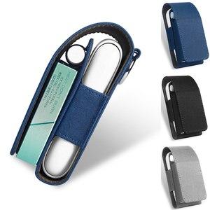 Image 1 - Lüks deri için taşınabilir kapak durumda IQOS 3 torba IQOS 3.0 çok koruyucu sigara durumda kapak IQOS 3.0 çok taşıma çantası
