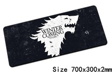 Game of Thrones mouse pads 70x30cm pad to mouse notbook computer mousepad gaming mousepad gamer to keyboard laptop mouse mat