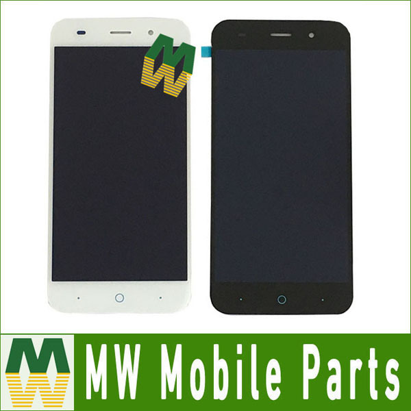 10pcs/lot For <font><b>ZTE</b></font> Blade V6 X7 D6 Z7 <font><b>T660</b></font> T663 5.0 inches LCD And Touch Screen Replacement Black & White Color image