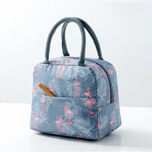 2019 New Camping Picnic Bags For Women Girl Waterproof Cooler Bag For SchoolΠcnic Oxford Reusable Cooler Lunch Bag sac pique(China)